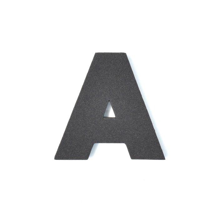 EVAアルファベット A ブラック