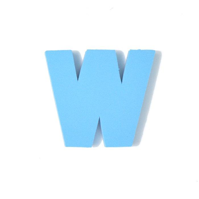 EVAアルファベット W スカイブルー