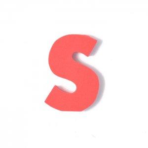 EVAアルファベット S レッド
