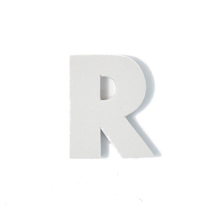 EVAアルファベット R グレー