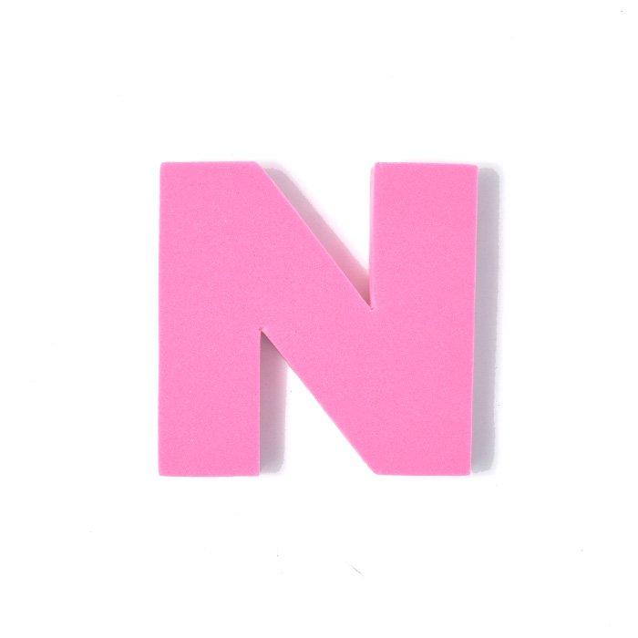 EVAアルファベット N ピンク