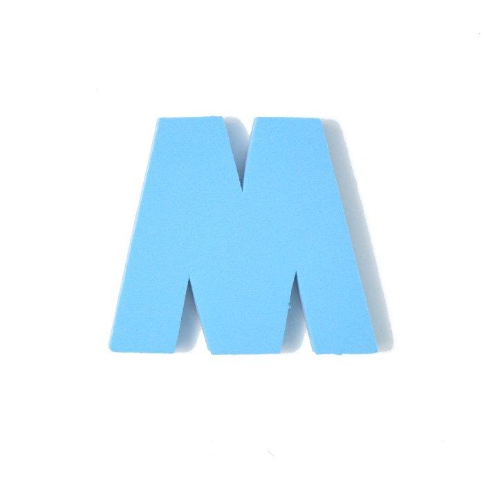 EVAアルファベット M スカイブルー