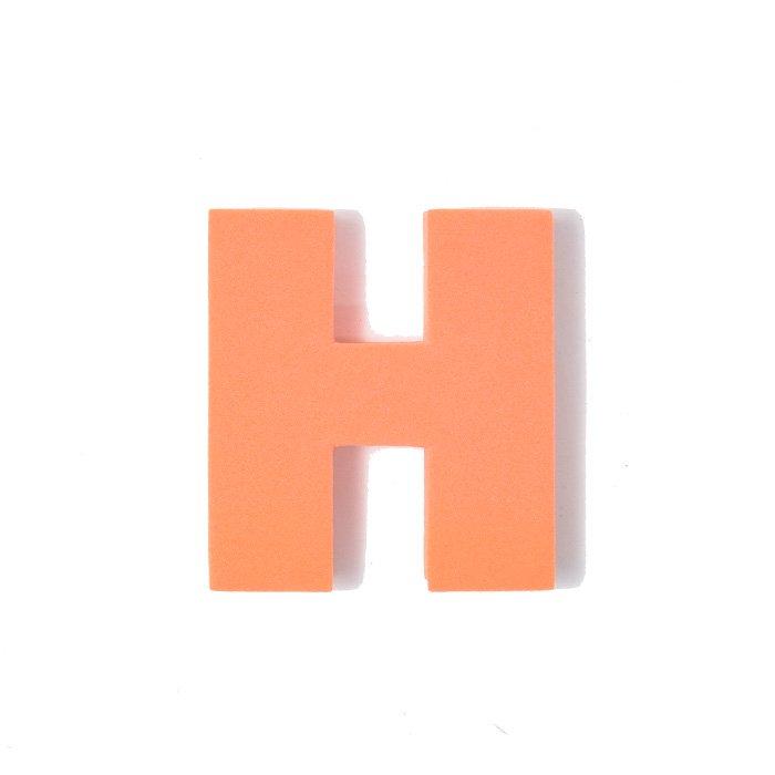 EVAアルファベット H オレンジ