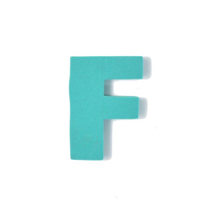 EVAアルファベット F グリーン