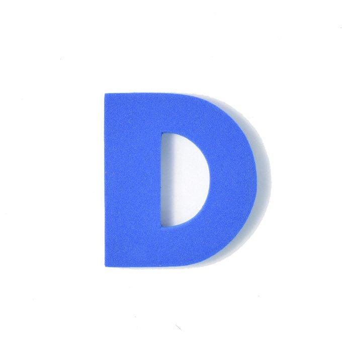 EVAアルファベット D ブルー