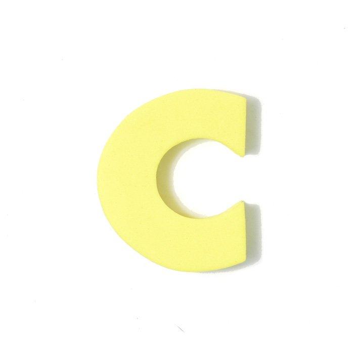EVAアルファベット C イエロー