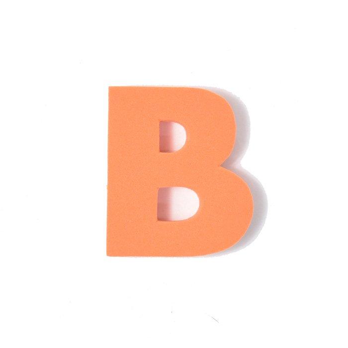 EVAアルファベット B オレンジ