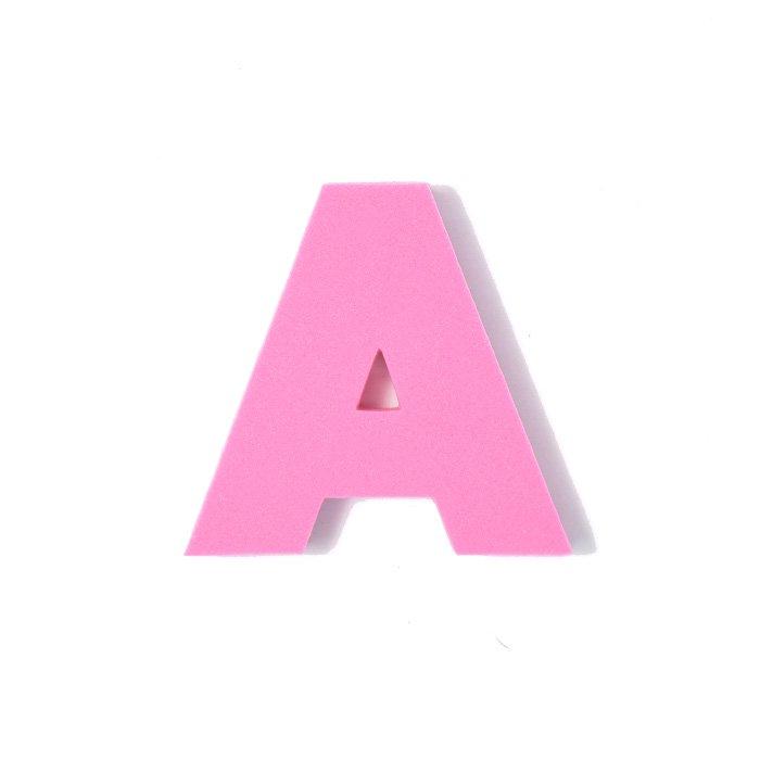 EVAアルファベット A ピンク
