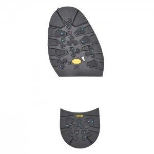 ヴィブラムソール #022AG  Black ハーフソール・ヒールセット