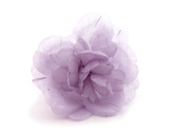 PROSSIMO(プロッシモ)草木染めフラワーラペルピン(むらさき草)(ピンズ)の画像
