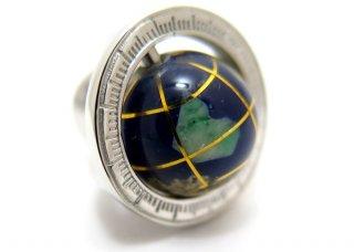 TATEOSSIAN(タテオシアン)地球儀シルバーピンズ(タイタック/ラペルピン) - ブランド