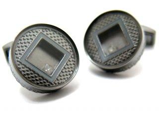 TATEOSSIAN(タテオシアン) ユニーク プレシャスウィンドウラウンドカフス(ダイヤモンド)(カフスボタン/カフリンクス) - ブランド