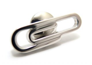 TATEOSSIAN(タテオシアン) シルバー ペーパークリップピンズ - ブランド