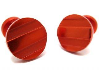 TYLER & TYLER(タイラー&タイラー) カプセルアイコンズカフス(バスカヴィルオレンジ)(カフスボタン/カフリンクス) - ブランド