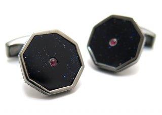 TATEOSSIAN(タテオシアン) プレシャスロンドンアイカフス(紫金石&ルビー)(カフスボタン/カフリンクス) - ブランド