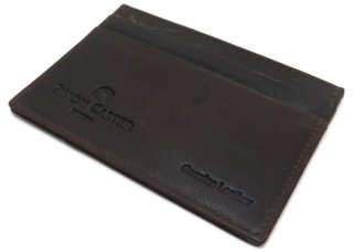 SIMON CARTER(サイモンカーター) T-REXカードホルダー(ブラウン) (カードケース カード入れ) - ブランド