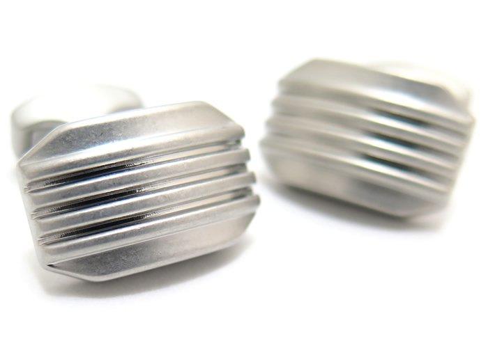 TATEOSSIAN(タテオシアン) ビジネス 禅ムーンライトカフス(ブラッシュドロジウム)(カフスボタン/カフリンクス) - ブランドの画像