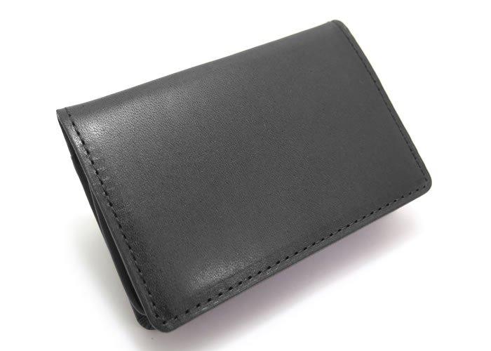 MADE IN JAPAN SERIES(メイドインジャパンシリーズ)シンプル バックポケット レザー 小銭入れ(ブラック) - ブランドの画像
