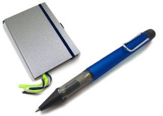【数量限定】LAMY(ラミー)アルスター ボールペン ハードカバーA6 ペン&ペーパー ギフトセット(オーシャンブルー) - ブランド