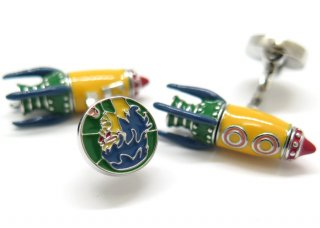 TATEOSSIAN(タテオシアン) ロケットマンカフス(マルチカラー) (カフスボタン/カフリンクス) - ブランド