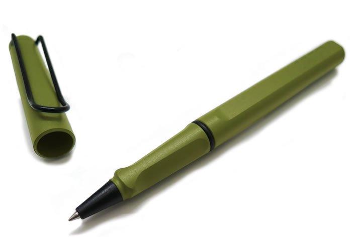 【数量限定】LAMY(ラミー)サファリ ファースト ローラーボールペン(サバンナグリーン)  - ブランドの画像