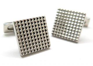 S.T.Dupont(エス・テー・デュポン) スクウェアダイヤモンドヘッドカフス (カフスボタン/カフリンクス) - ブランド