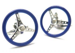 GTO STEEL(ジーティーオー スティール) ナルディトリノカフス(ブルー)(カフスボタン/カフリンクス) - ブランド