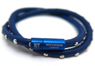 TATEOSSIAN(タテオシアン) ミニスタッドブレスレット(ブルー) - ブランド