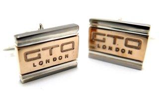 GTO LONDON(ジーティーオー ロンドン) ロゴカフス(リアルフェラーリメタル)(カフスボタン/カフリンクス) - ブランド