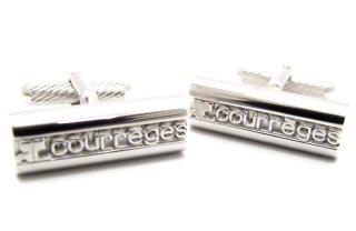 courreges(クレージュ) カーヴロゴカフス(カフスボタン/カフリンクス) - ブランド