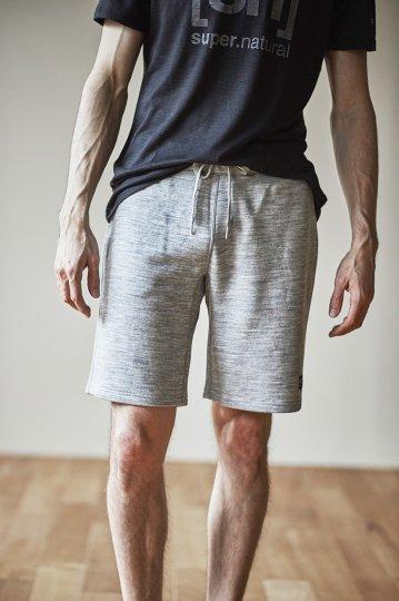 Knit Shorts メンズ裏毛 リラックス ラウンジショートパンツ【スポーツウェア ヨガウェア】