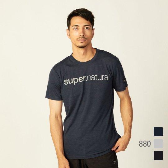 M SIGNATURE TEE(ライトウェイト140g)メンズ半袖シグネチャーTシャツ【スポーツウェア ヨガ・アウトドアウェア】