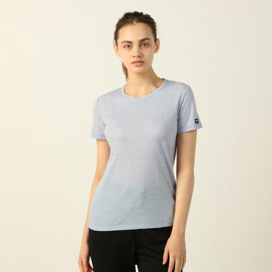 BASIC CREW NECK TEE クルーネック Tシャツ 半袖【スポーツウェア ヨガウェア】