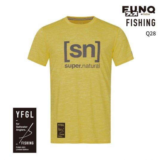 【送料無料】[sn]×FUNQ FES Fishing -FUNQフェス コラボTシャツ-釣り-【メンズ スポーツウェア】