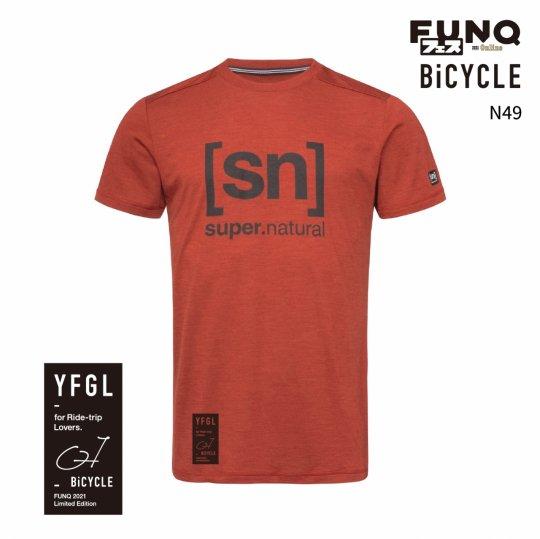 【送料無料】[sn]×FUNQ FES Bike -FUNQフェス コラボTシャツ-自転車-【メンズ スポーツウェア】