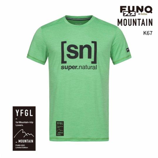 【送料無料】[sn]×FUNQ FES Outdoor -FUNQフェス コラボTシャツ-登山-【メンズ スポーツウェア】