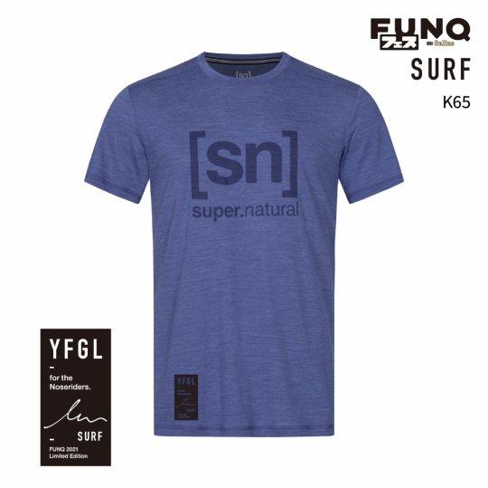 【送料無料】[sn]×FUNQ FES Surf -FUNQフェス コラボTシャツ-サーフィン-【メンズ スポーツウェア】