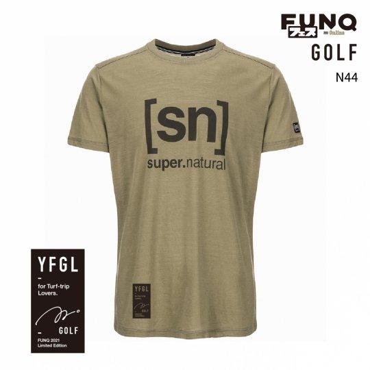 【送料無料】[sn]×FUNQ FES Golf -FUNQフェス コラボTシャツ-ゴルフ-【メンズ スポーツウェア】