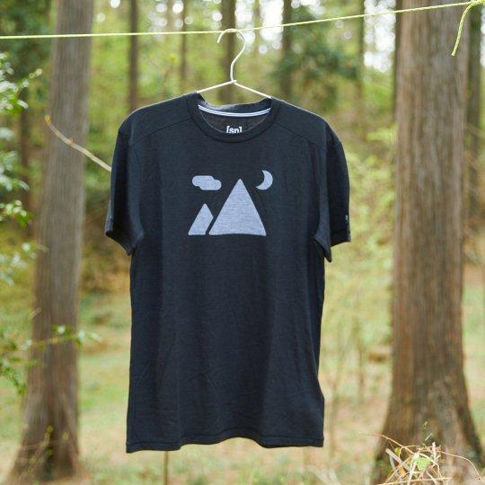 [sn] × YAMA HACK T-shirt メンズ 「マウンテン」 illustration by ジェリー鵜飼
