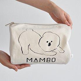 「CLASKA(クラスカ)」のMAMBO(マンボ)ラウンドボックスポーチ
