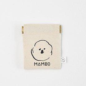 「CLASKA(クラスカ)」のMAMBO(マンボ)フラットバネポーチ