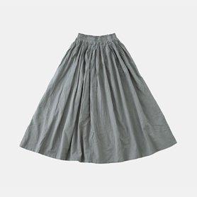 薄地ロングスカート ライトグレー