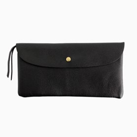 POUCH WALLET long カード収納付き / ブラック
