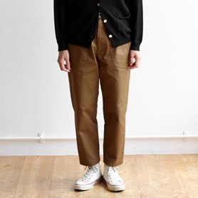 work pants / ブラウン