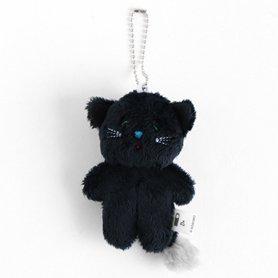 そぼろのぬいぐるみバッグチャーム 黒猫