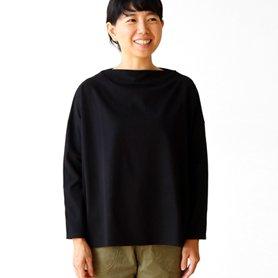flannel tops ブラック