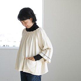 warm cotton blouse[50%OFF]
