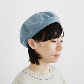 ベレー帽 / ブルー