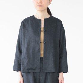 ライトキャンバスシャツジャケット / ネイビー