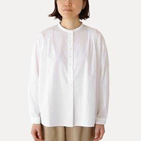 コットンタックボイルシャツ